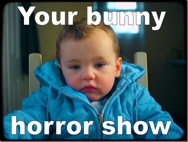 Шоу ужасов вашего кролика - your bunny horror show
